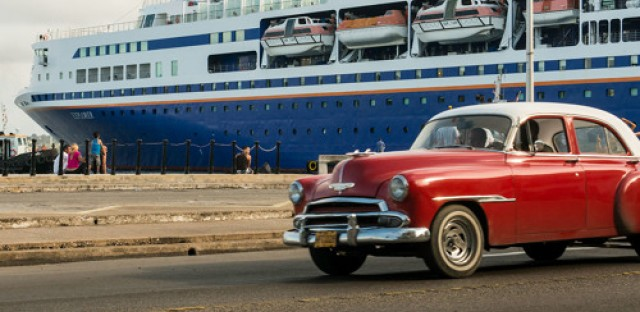 American students studying at sea land in Cuba as controversy over handshake brews