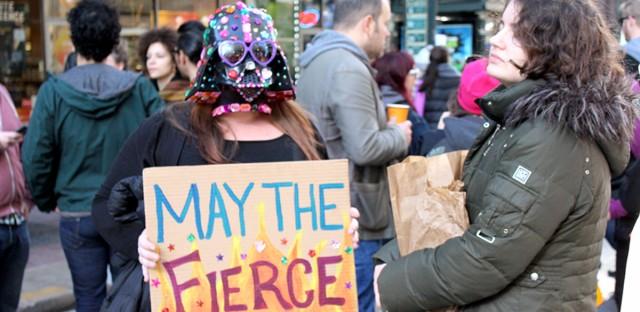Chicago Trump Protest Photos