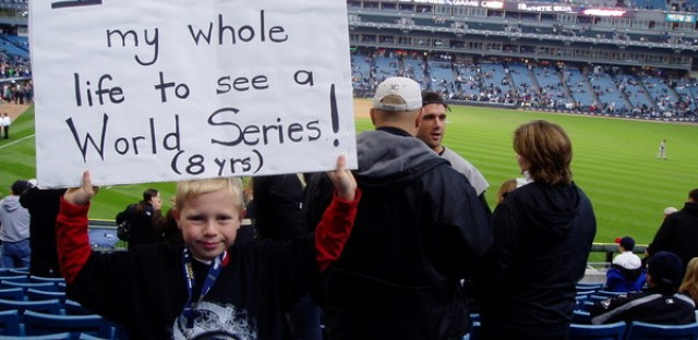 Waiting a lifetime for a Chicago baseball World Series.