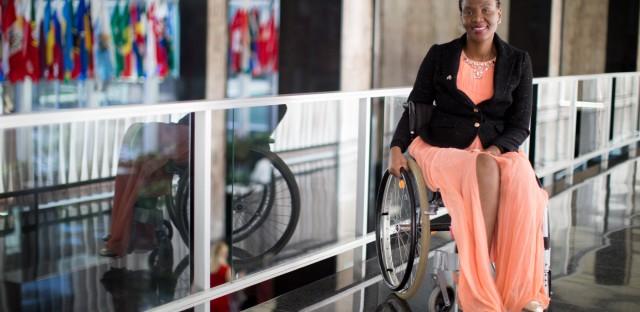 Malebogo Malefhe is a winner of the 2017 International Women of Courage award.