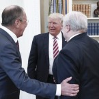Russian Foreign Minister Sergei Lavrov and Russian Ambassador to the U.S. Sergei Kislyak met with President Trump last week in the Oval Office.