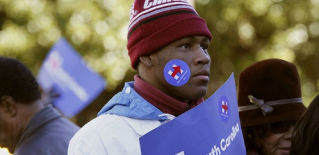 In South Carolina, Young Black Voters Could Put Holes in Clinton's Firewall