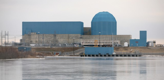 Exelon said it would have to close its nuclear power plant in Clinton, Ill. (above) and another plant if it did not get subsidies.