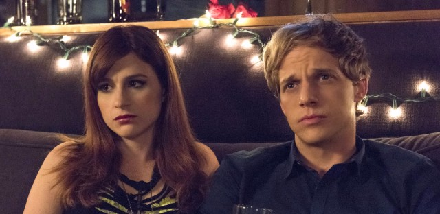 Gretchen (Aya Cash) is a self-centered music publicist who falls in love with Jimmy (Chris Geere) in the FXX series You're the Worst. Prashant Gupta/FX