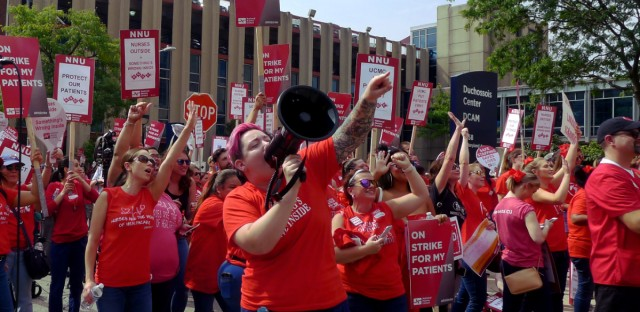 UIC nurse strike