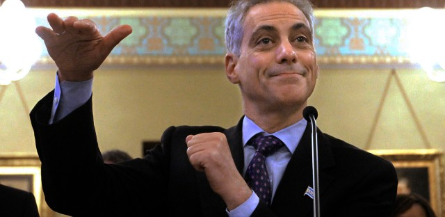 Rahm Emanuel Pension