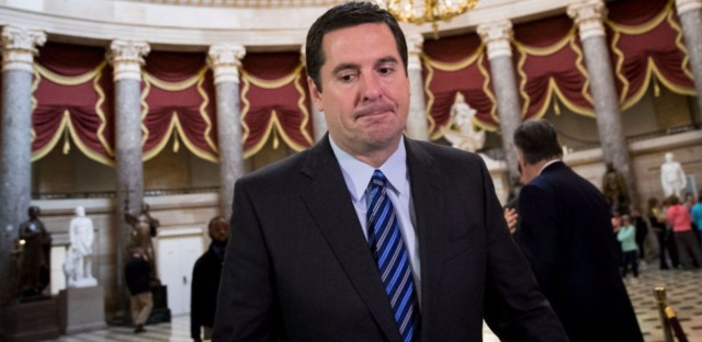 The embattled chairman of the House Intelligence Committee, Devin Nunes, on Thursday said he is temporarily stepping aside from the probe into Russian meddling in the 2016 election.