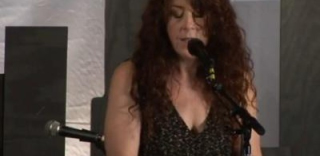 Krista Detor performs —and talks sensitive songs and shooting cans; plus the High-Chair Trick