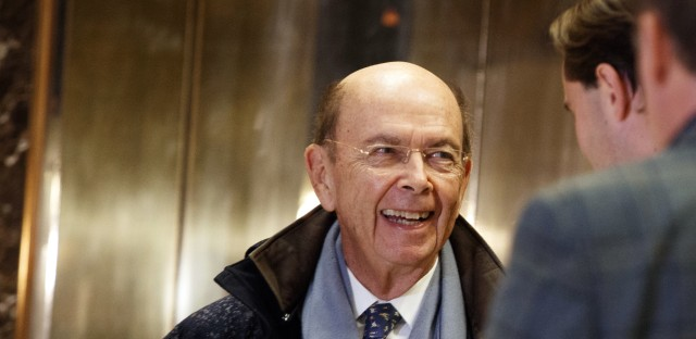 Billionaire investor Wilbur Ross Jr., President-elect Donald Trump's pick for commerce secretary, is one of the wealthiest members of Trump's cabinet.