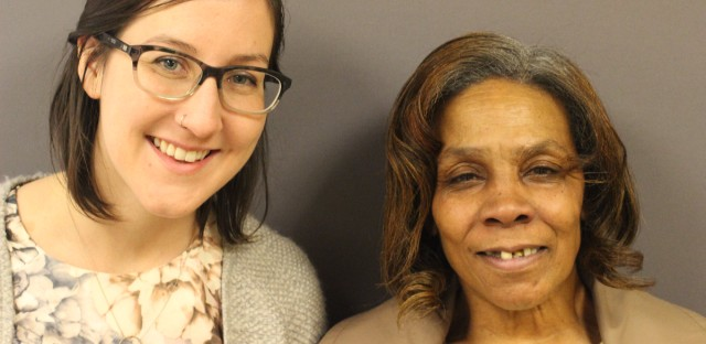 Chloe Gremaud interviewed Rosalind Easton at Hollywood House in Chicago.