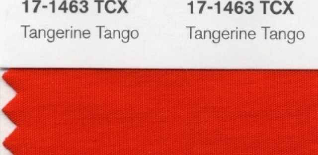 Tangerine Tango: A color for these times?