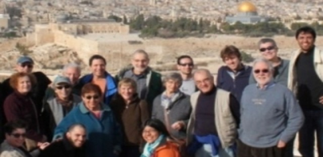 The JRC Israel/Palestine Study Tour traveled to Jerusalem and the West Bank in December.