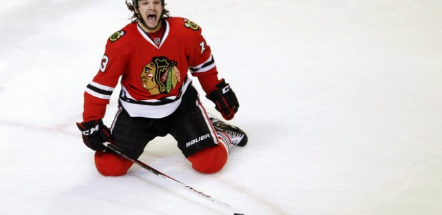 The Blackhawks had another hero, Danny Carcillo scored the game winner Wednesday.