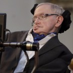 Britain's Professor Stephen Hawking