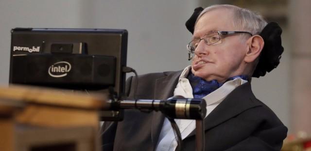 Britain's Professor Stephen Hawking