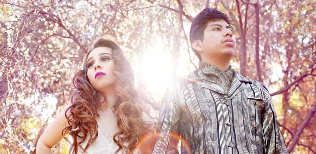 """Crisia Regalado and David Aquino comprise electropop duo """"Sin Color."""""""