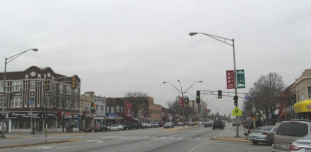 Cermak Road commercial strip