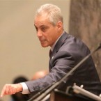Emanuel, Rauner in war of words
