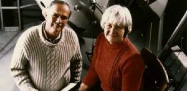 Gene and Carolyn Shoemaker, photographed in 1986.