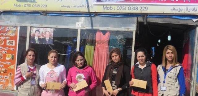 Women for Women International empowers refugees by teaching them business skills