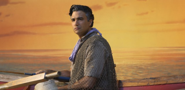 Jaime Camil as Rogelio De La Vega on the CW's hit telenovela-style comedy, Jane The Virgin. (Patrick Wymore/The CW)