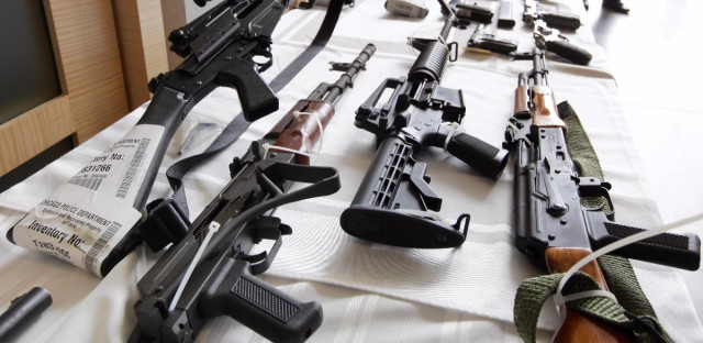"""In Chicago, gun trafficking doesn't look like the cartel scenes often seen in movies. Instead, guns spread through a web of little guys, """"an almost unlimited number of sources,"""" reporter Mick Dumke found."""