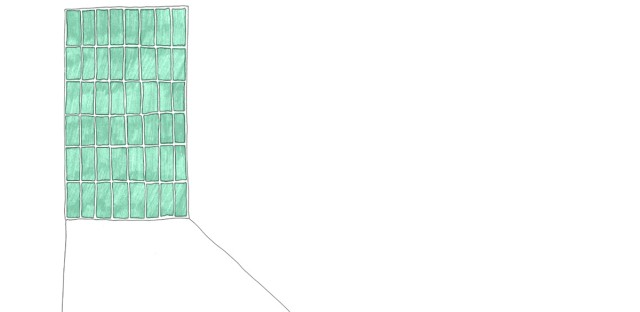 An illustration of an empty prison cell