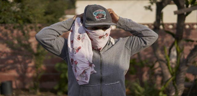 Weekend Edition Saturday : Many California Farmworkers Forced To Stay Behind During The Wildfires Image