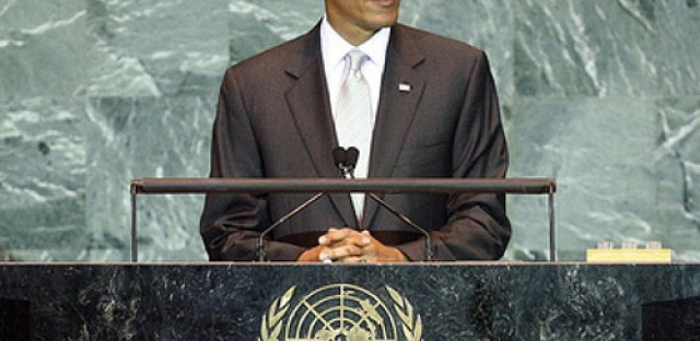 Obama addresses the Syrian crisis at the UN
