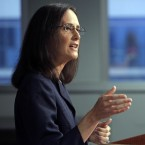 In this Aug. 21, 2014 file photo, Illinois Attorney Gen. Lisa Madigan speaks at a news conference, in Chicago.