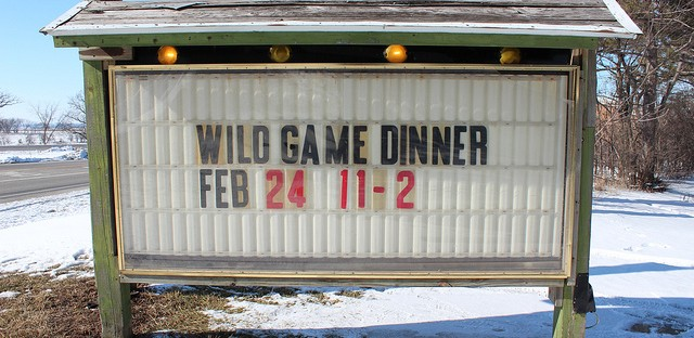 2013 Harvard Sportsman's Club Wild Game Dinner in Harvard, Illinois
