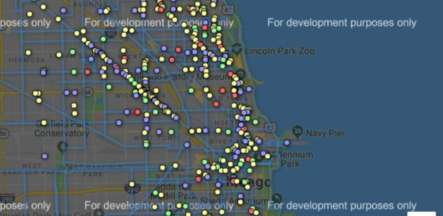 Map: Where are Chicago's bike dooring accidents happening?