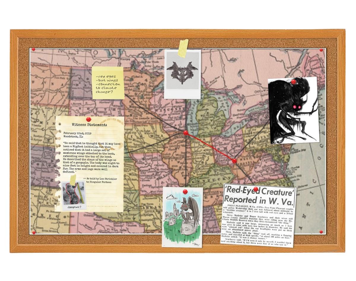 Mothman map updated