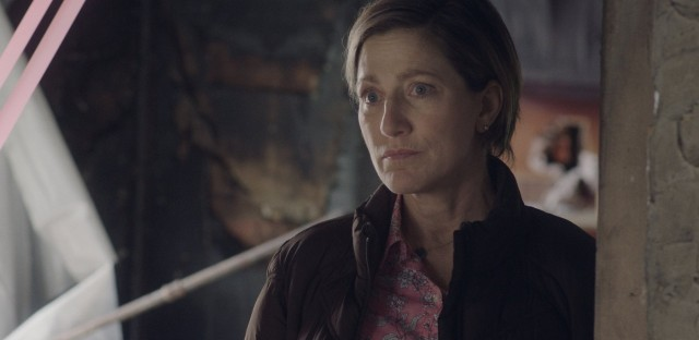 Weekend Edition Sunday : Edie Falco Plays A Middle-Aged Teacher With A Lot To Learn In 'Outside In' Image