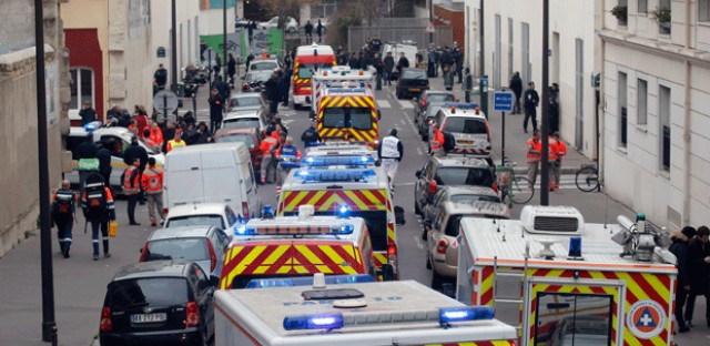 At least 12 dead in shooting at satirical publication's office in Paris