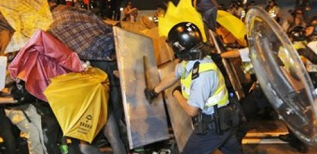 Pro-democracy protests in Hong Kong continue