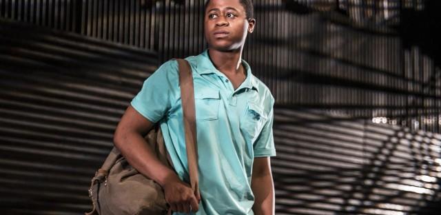 Daniel Kyri plays Shedrick Yarkpai in the Goodman Theatre production of Objects in the Mirror.