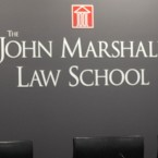 A courtroom at the John Marshall Law School on Friday, Sept. 28, 2012 in Chicago.