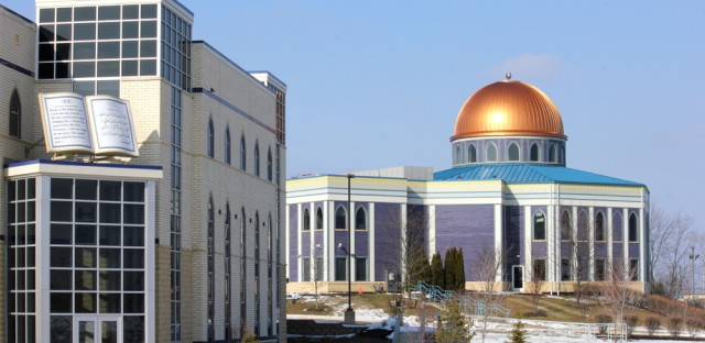 The Prayer Center, a mosque in Orland Park, was built in 2004, as more area Muslims moved to town.