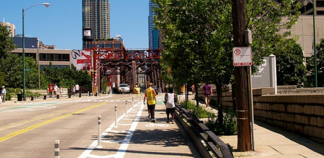 Protected lanes, bike shares and rapid transit, oh my!