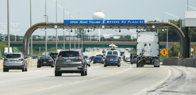 Illinois Tollway traffic