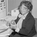 """According to NASA, Mary Jackson """"may have been the only black female aeronautical engineer in the field"""" in the 1950s. Singer and actress Janelle Monáe plays her in the film Hidden Figures."""