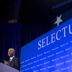 """President Barack Obama speaks at the SelectUSA Investment Summit in Washington on Monday. Concerns about a possible """"Brexit"""" were floating in the air as British investors met with state economic teams at the two-day summit."""