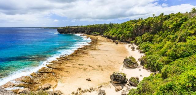 Nuku'alofa, Tonga. A new island called Hunga Tonga-Hunga Ha'apai appeared in Tonga via volcanic activity.