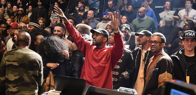 Kanye west plays puppet master with life of pablo premiere wbez for Kanye west madison square garden