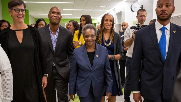 Conflicts With Principal At New High School In Englewood