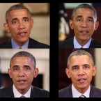 A team used artificial intelligence to make words come out of former President Barack Obama's mouth.
