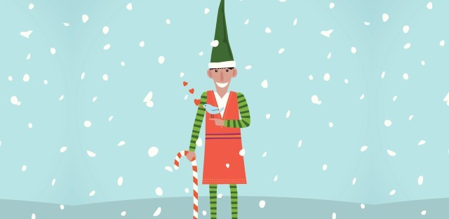 "This year marks the 25th anniversary since David Sedaris' ""Santaland Diaries"" first aired on Morning Edition. ( dane_mark / iStock/Getty Images )"