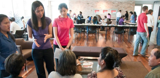 A community engagement and education event held by the Asian Health Coalition.