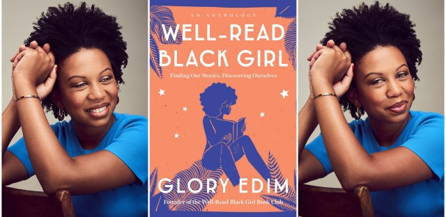 Glory Edim is the founder of Well-Read Black Girl, a book club turned literary festival turned online community turned collection of essays. (Photos by Jai Lennard/Book cover image courtesy of Ballantine Books)